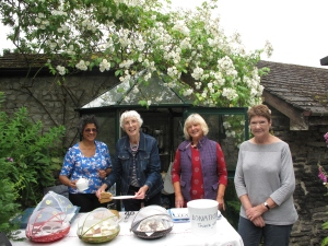 Teas in the garden Hope Valley Group Castleton